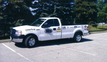 NIagara Industrial Supplies Truck